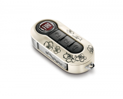 Set key covers Fiori voor Fiat 500