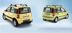 Spatlappen voor achterwielen voor Fiat Panda