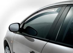 Anti-turbulentie voorspoilers voor zijruiten voor Fiat