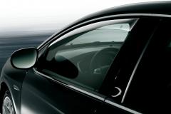 Anti-turbulentie voorspoilers voor zijruiten voor Lancia Delta