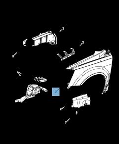 Spatbord voor Lancia Voyager
