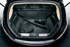 Harde bescherming voor kofferbak voor Lancia Delta