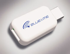Media player Blue Me adapter voor iPod en iPhone