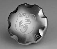 Aluminium motorolie-vuldop voor Abarth 500