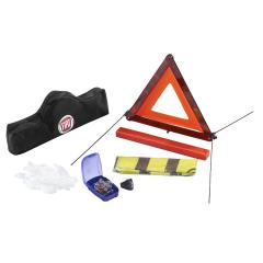 Veiligheidsset met gevarendriehoek en reflecterend veiligheidshes voor Fiat 500X
