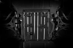Bodemplaatbescherming voor brandstoftank voor Jeep Grand Cherokee