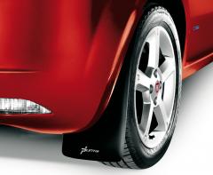 Rubberen spatlappen voor achterwielen voor Fiat