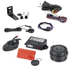 Anti-diefstalsysteem met volumetrisch alarm voor Fiat en Fiat Professional Doblo