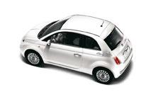Stickers Roma città voor Fiat 500
