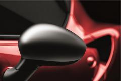 Spiegelkappen van gesatineerd chroom voor Alfa Romeo 4C