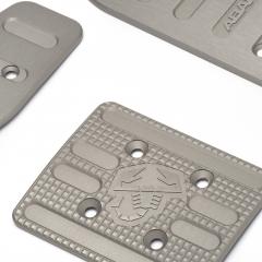 Set sportieve pedalen, aluminium voor automatische versnellingsbak