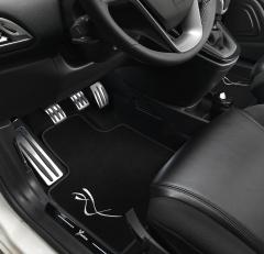 Verlichtingsset voor onder het dashboard en portieren voor Lancia Ypsilon
