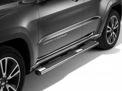 Verchroomde klaptreden, opstaptreden aan de zijkant onder portier voor Jeep Grand Cherokee