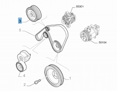 Vaste riemspanner voor Alfa Romeo