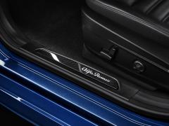 Aluminium instaplijst met verlicht logo voor Alfa Romeo Giulia