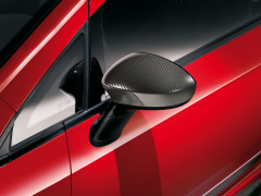 Spiegelkappen carbon look voor Fiat