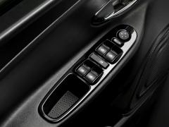 Glanzend zwarte sierlijst voor ruitenwisserbedieningen voor Lancia Ypsilon