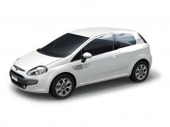 Stickers Stars voor 3-deurs versie voor Fiat Punto Evo