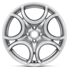 Lichtmetalen velg 7J x 17'' H2 ET39 voor Alfa Romeo Mito