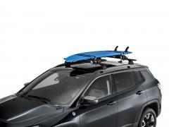 Rek voor surfboard en sup voor op het dak
