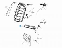 Achterlicht voor Lancia Thema