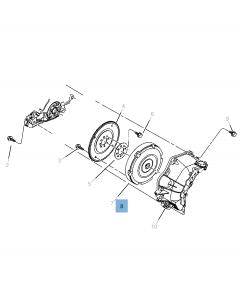 Set koppeling (koppelingsplaat en drukplaat) voor Jeep Compass/Patriot