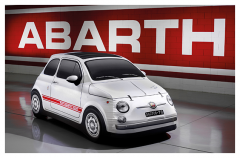 Autohoes 500 Abarth vintage