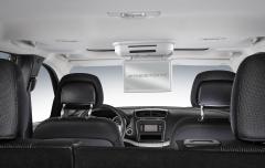 Dvd-systeem voor plafond voor Fiat Freemont